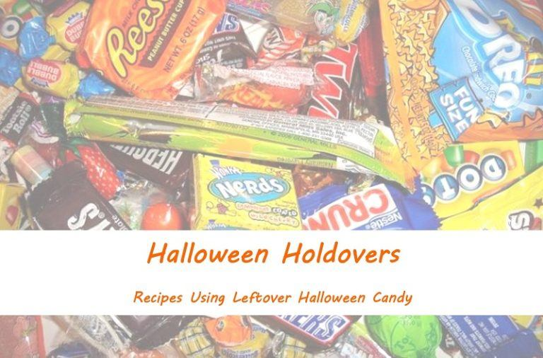 Halloween Holdovers: Recipes Using Leftover Halloween Candy
