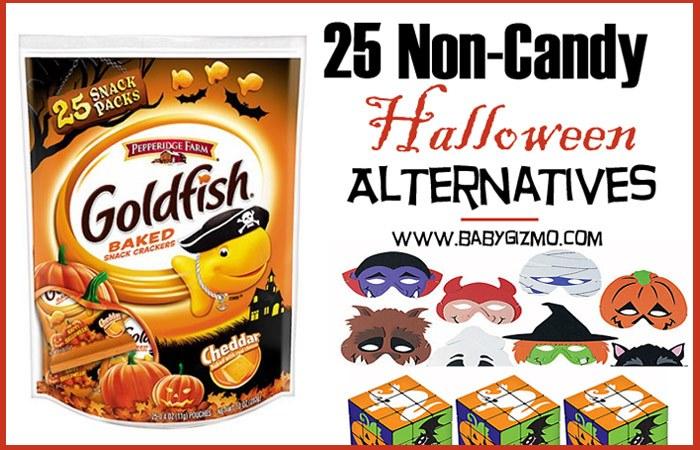 25 Non-Candy Halloween Alternatives