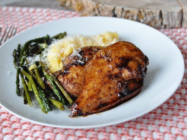 The New Comfort Food: Citrus Balsamic Glazed Chicken