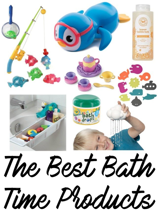 The Best Bath Time Products
