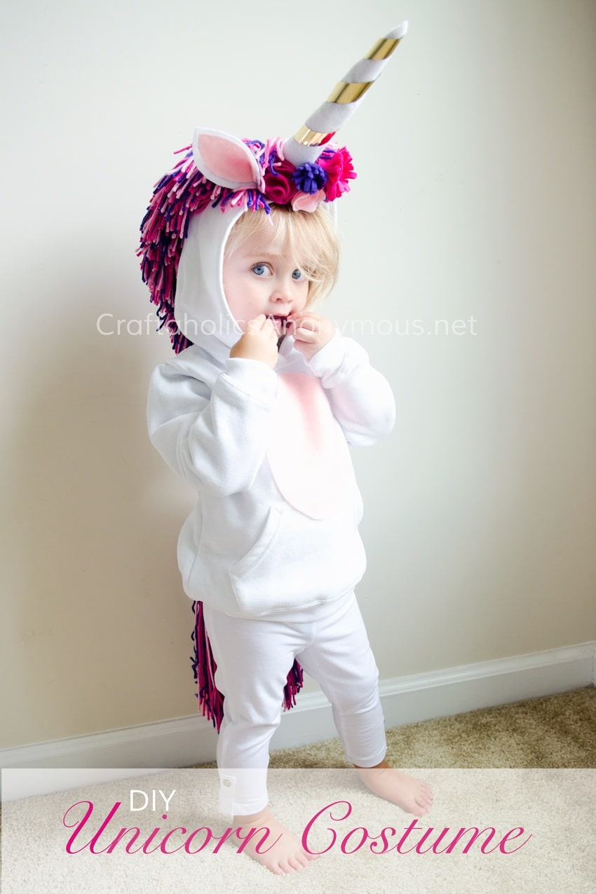 unicorn  sc 1 st  Baby Gizmo & Ten Quick Homemade Halloween Costumes - The Baby Gizmo Company