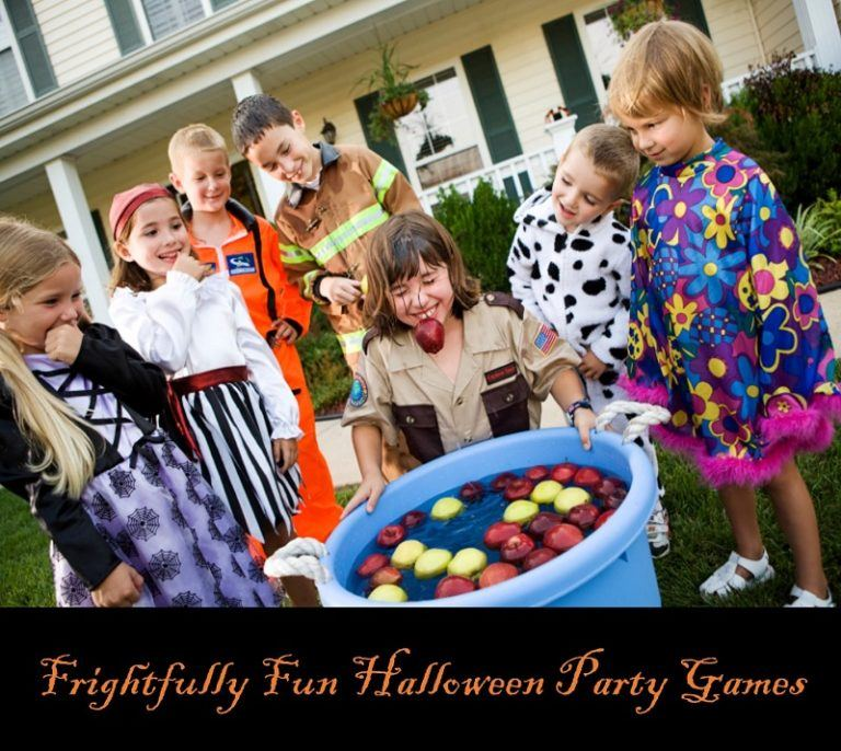 Frightfully Fun Halloween Party Games