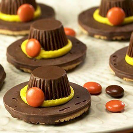 pilgrim-hat-cookies crafts