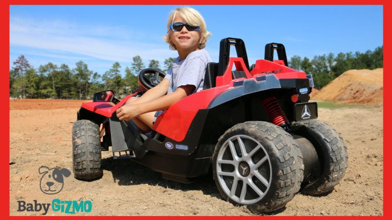 Peg Perego Polaris Slingshot Kid Vehicle Ride-on Review