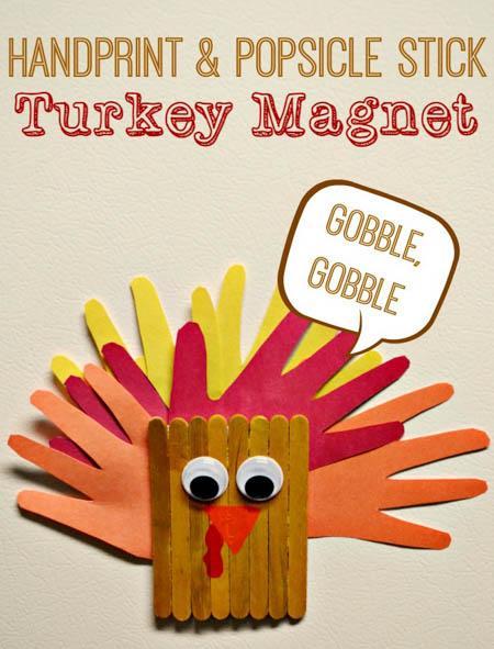 turkey-magnet-craft