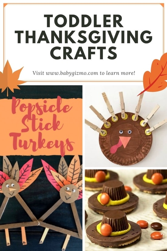 5 Great Thanksgiving Crafts for Toddlers