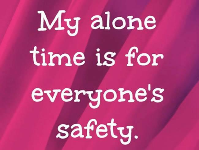 alone-time-safety break