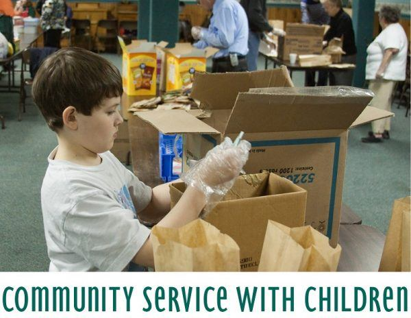 Community Service with Children