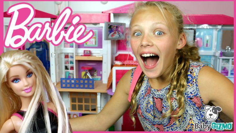 NEW Barbie Hello Dreamhouse FULL HOUSE TOUR VIDEO