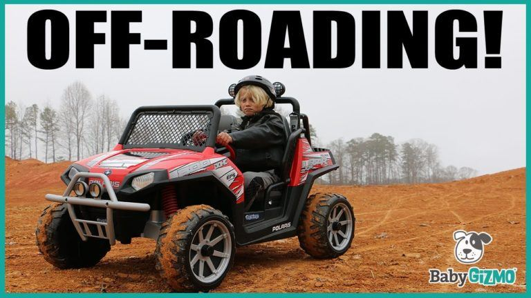 Peg Perego Polaris Ranger RZR 24 volt Off-Roading Kid ATV