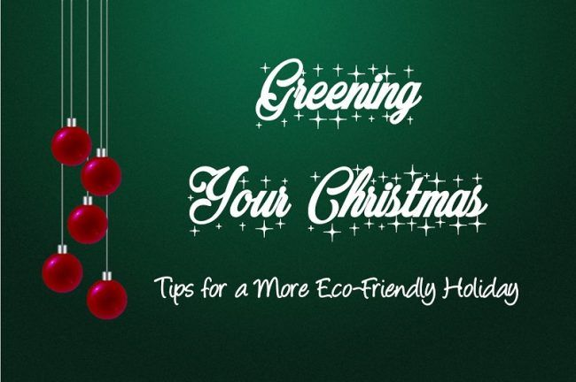 greening your christmas