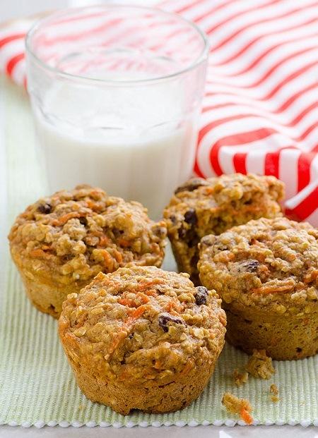 oatmeal muffin recipes