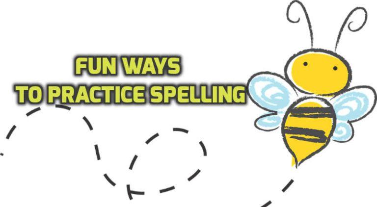 8 Fun Ways to Practice Spelling Lists