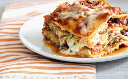 lasagna christmas dinner
