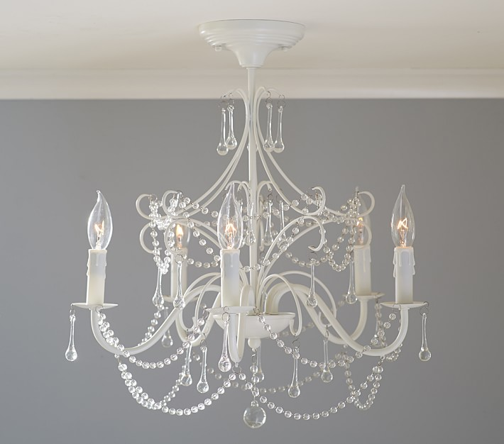 Nursery lighting ideas baby gizmo company mia flushmount mozeypictures Image collections