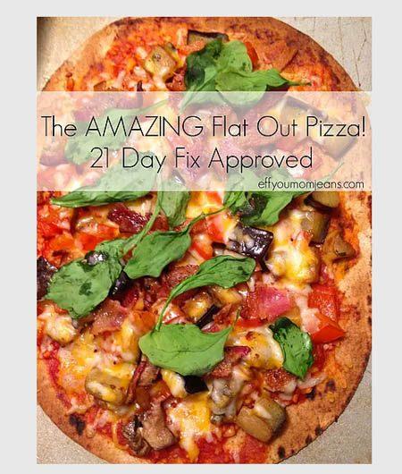21 day fix pizza