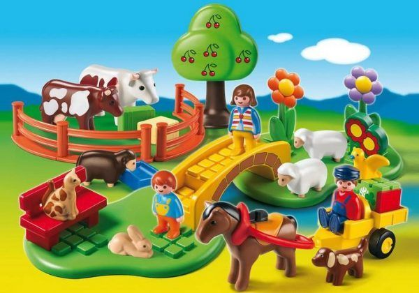 Review: Playmobil 123 Countryside Set