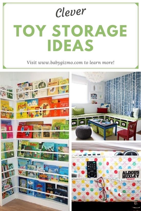 8 Clever Toy Storage Ideas