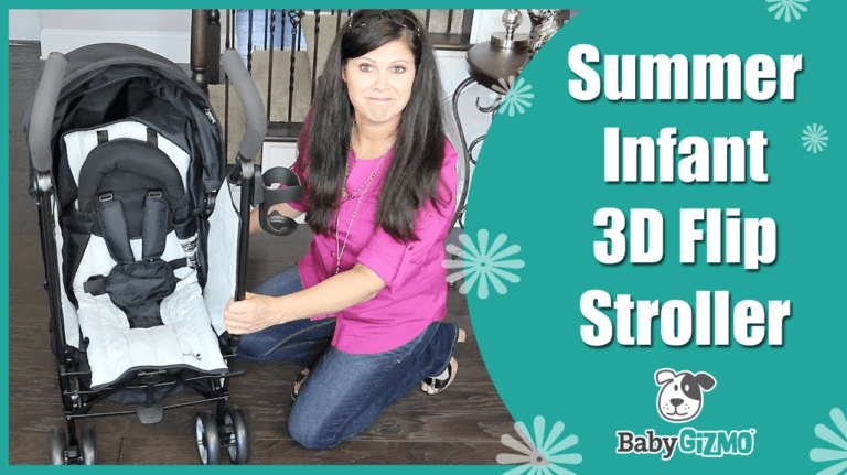 Summer Infant 3D Flip Stroller Review