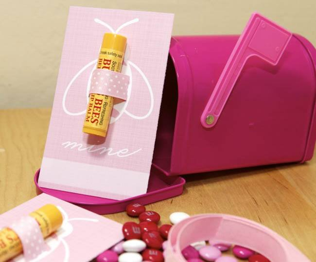 burts bees valentine's