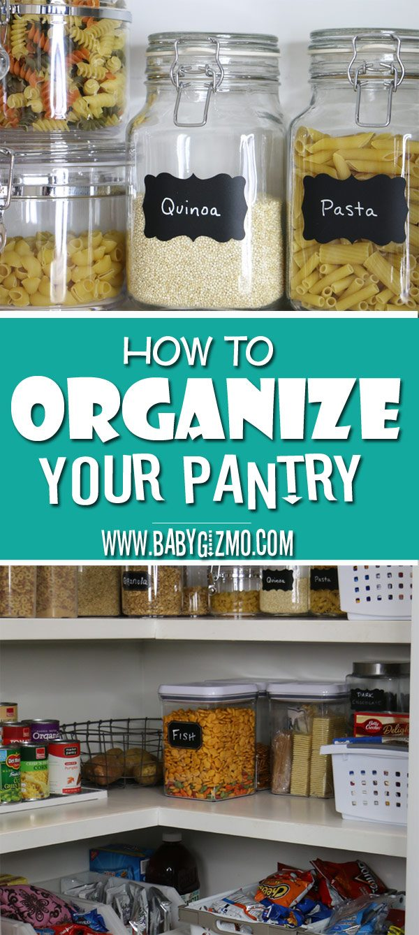 How to Organize a Messy Kitchen Pantry | Tips & Organization