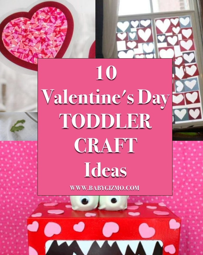 10 Valentine's Day Toddler Craft Ideas