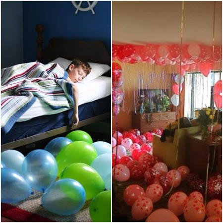 cheap valentines ideas balloons
