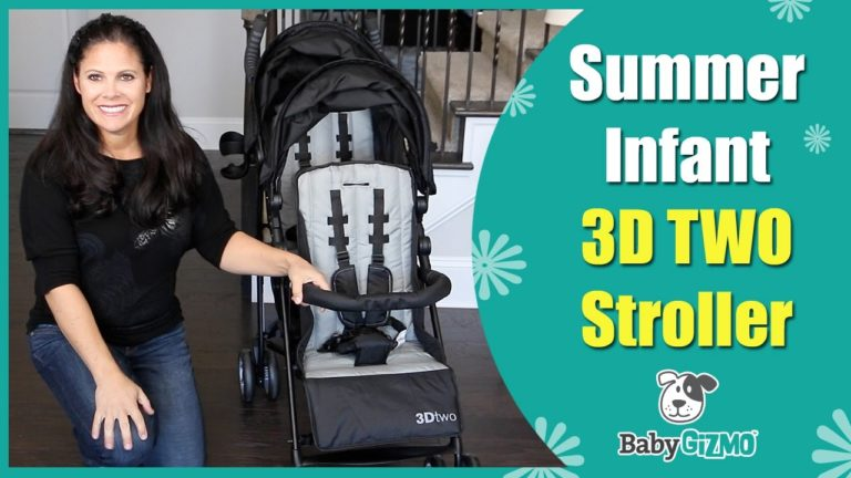 Summer Infant 3D Two Double Stroller Review
