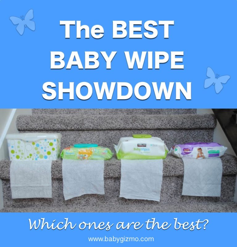 4 Brand Baby Wipes Comparison