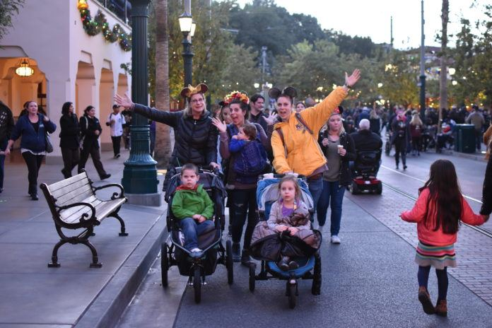 We Didn't Take a Double Stroller To Disneyland, But This Is What We Did Take