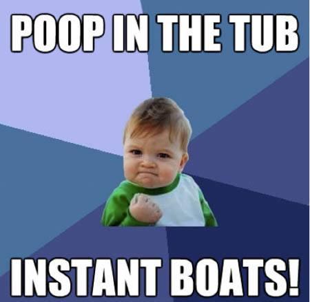 WW3 bath time meme