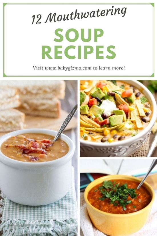 12 Mouthwatering Soup Recipes