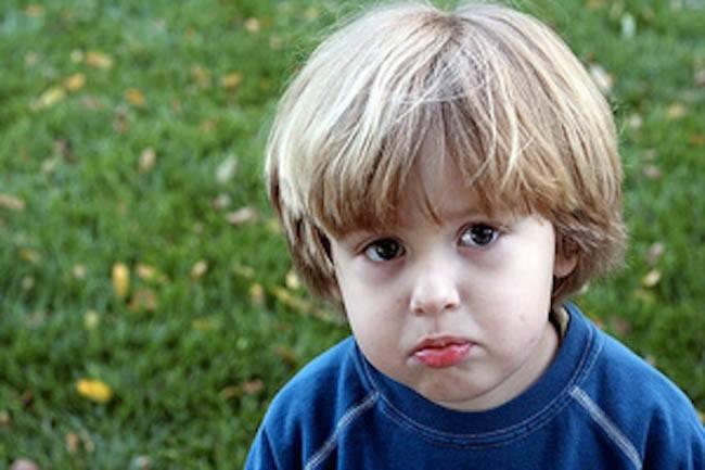 toddlerhood again pouting
