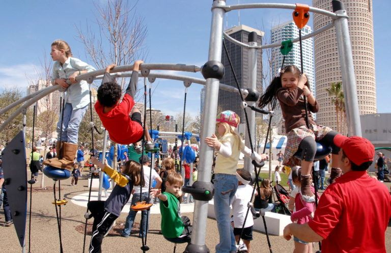 Six Tips For Managing Two Kids (Or More) At The Playground