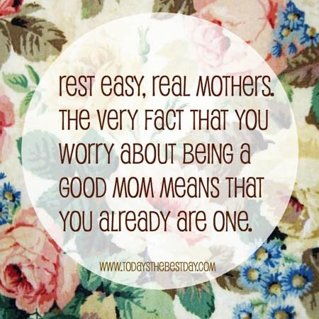 secrets you're a good mom