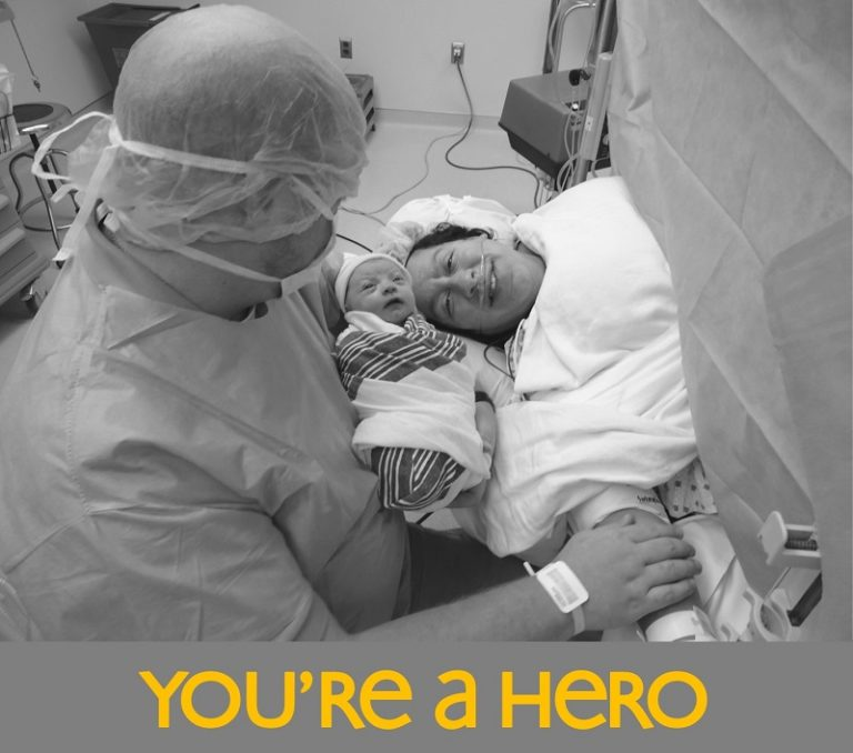 No Matter How Your Baby Got Here: You're a Hero