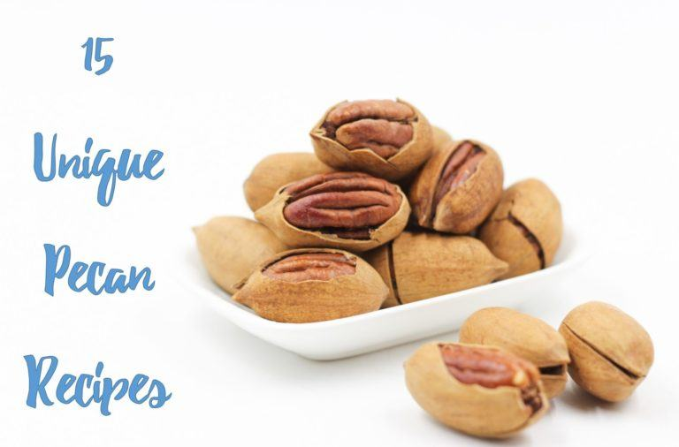 15 Unique Pecan Recipes