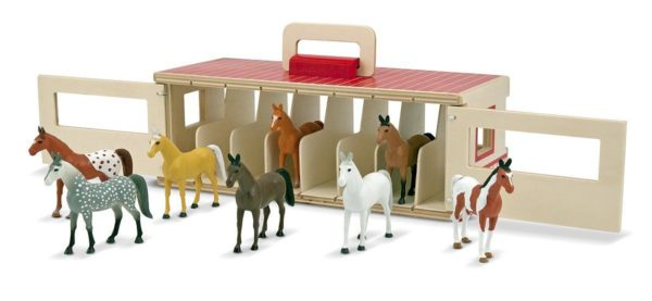 Review: Melissa & Doug Take Along Show Horse Stable Set