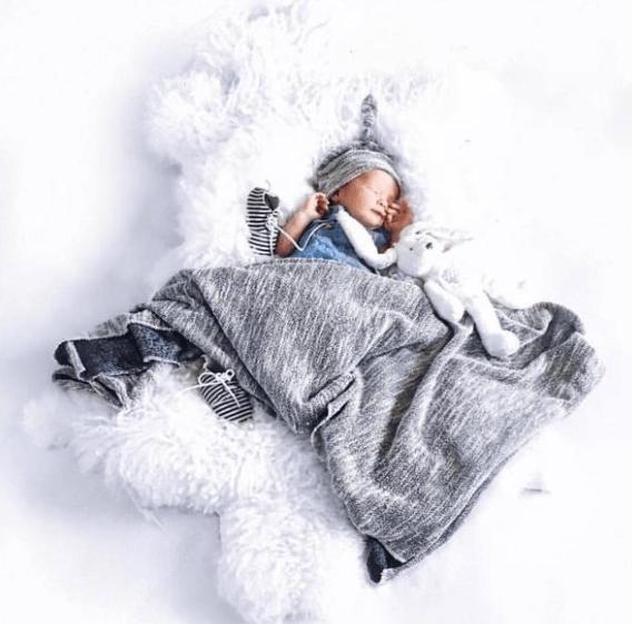 KB Cute Designs Swaddle Blankets