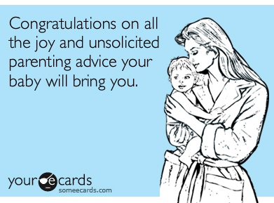 Dealing with Unsolicited Parenting Advice