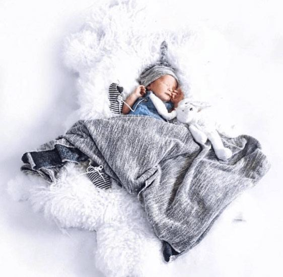 KB Cute Designs Swaddle Blankets