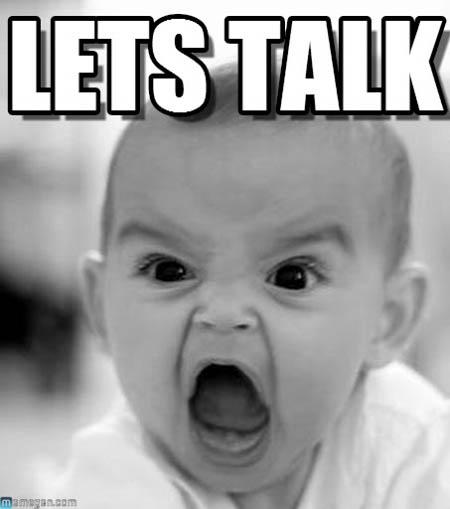 stop baby talk
