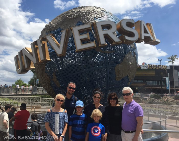Universal Orlando Resort with Grandparents and Kids