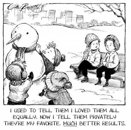 Favorite child funny comic
