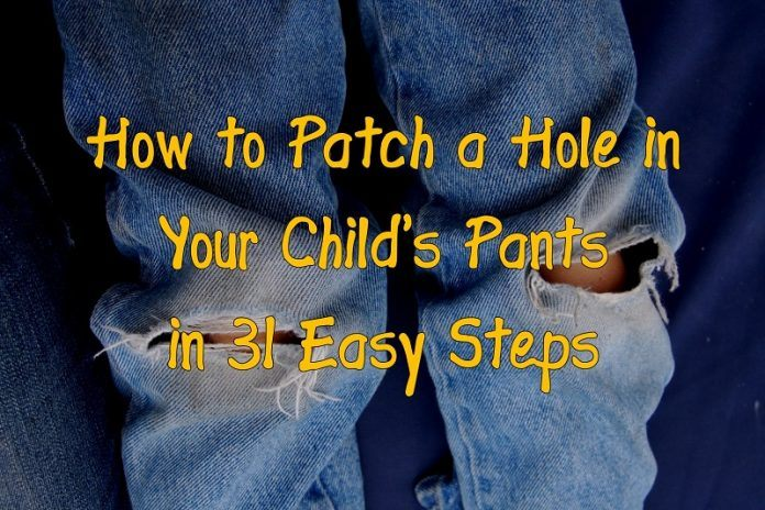 patch a hole