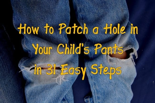 patch a hole