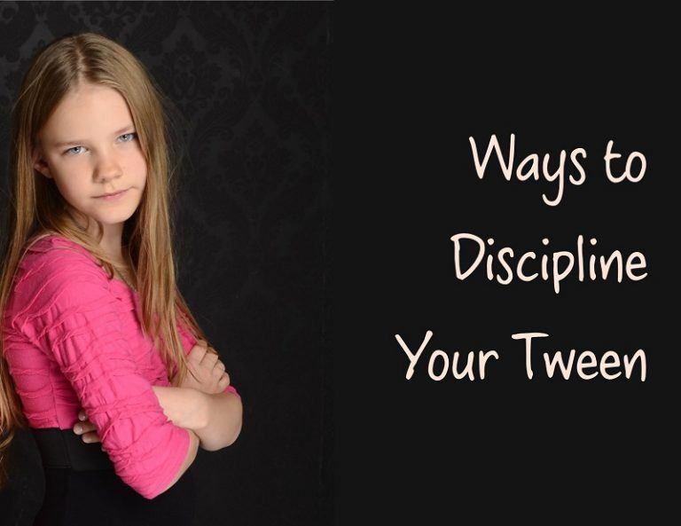 5 Ways to Discipline Your Tween
