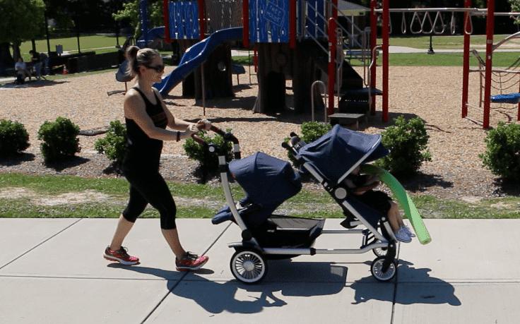Entourage Double Stroller