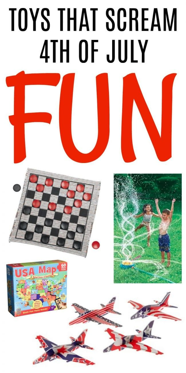 11 Toys That Scream July 4th Fun