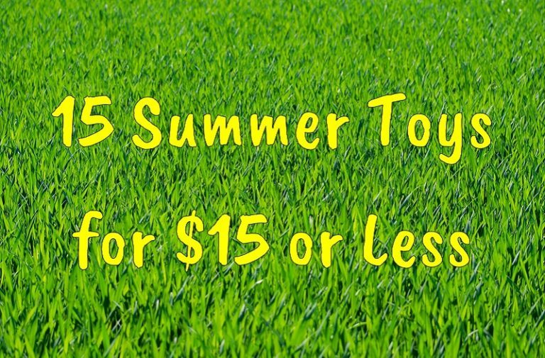 15 Summer Toys for $15 or Less